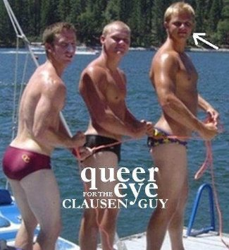 Jimmy Clausen underwear - quarterback for carolina panthers