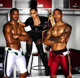 Kerry Rhodes NYJets and Devin Thomas Redskins