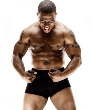 Ray Rice - running back for the Baltimore Ravens
