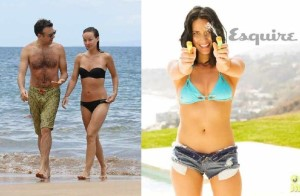 best celebrity bikini - olivia wilde and olivia munn