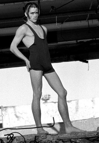 colin farrell unitard - male model