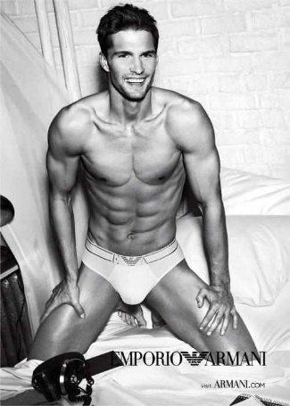 czech male underwear model - Tomas Skoloudik - emporio armani mens underwear ss 2012