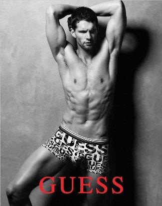czech male underwear model - Tomas Skoloudik - guess mens underwear - fw 2011-12