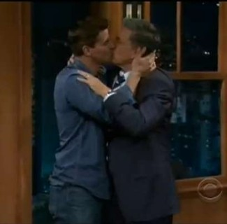 david boreanaz gay kiss with craig ferguson