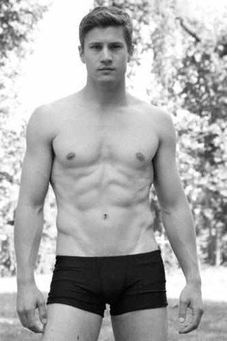 drew kenney model in boxer briefs - independent men