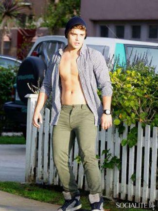 garrett-clayton-open-shirt-showing-abs-chest