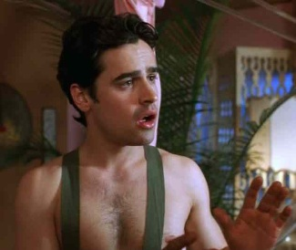 jesse bradford chest hair in according to spencer