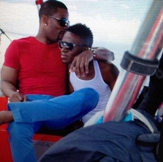 kerry rhodes boyfriend kiss