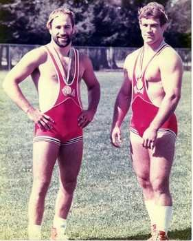 mark and dave schultz - wrestling gold medalists