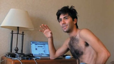 nev schulman shirtless