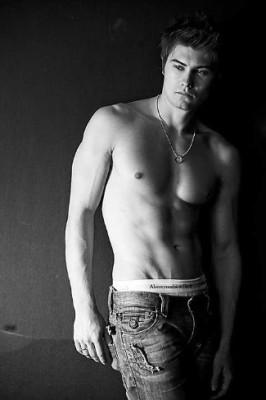 sebastian gacki abercrombie and fitch underwear - shirtless
