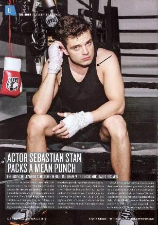 sebastian stan muscle shirt by sunspel - details magazine