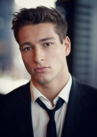 Cyrus Moosavi - male model from scotland