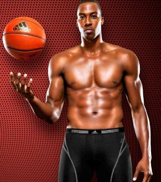 NBA Basketball Players in Underwear Dwight Howard Adidas
