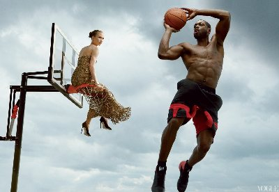 shirtless basketball players nba dwyane wade vogue