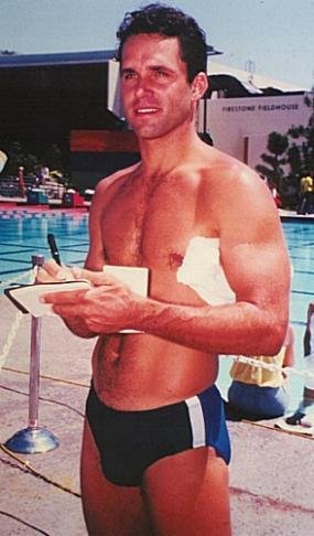 Gregory Harrison speedo - Dr George Alonzo Gates on the CBS series Trapper John MD