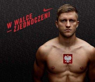 Jakub Błaszczykowski shirtless nike ad