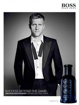 Jakub Blaszczkowski - hugo boss suit and perfume