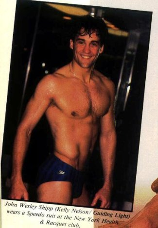 John Wesley Shipp - Actor from the soap One Life to Live