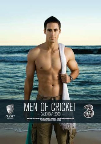 Mitchell Johnson - men of cricket calendar 2009