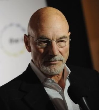 handsome bald men - patrick stewart