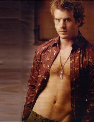 famous ginger men go shirtless rob kazinsky