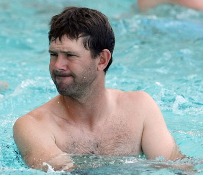 Ricky ponting shirtless cricketers