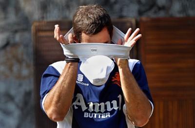 Ryan ten Doeschate - cricket jockstrap