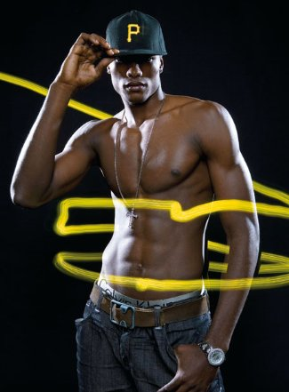 Serge Ibaka shirtless basketball players