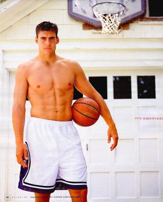 Wally Szczerbiak Shirtless basketball hunk