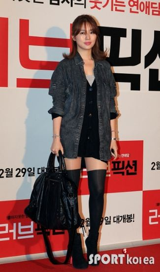 Yoon Eun Hye and Balenciaga Velo Bag