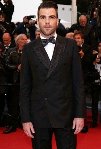 Zachary Quinto wearing Alexander McQueen - cannes 2013