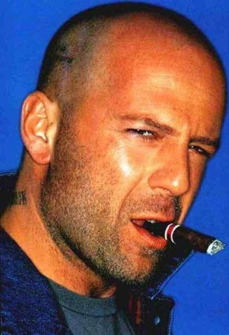 bald actors - bruce willis
