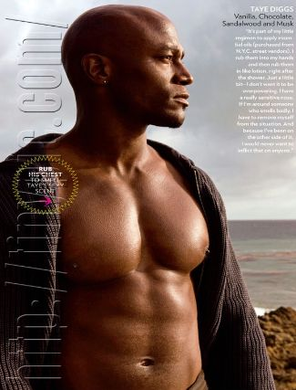 bald actors - taye diggs
