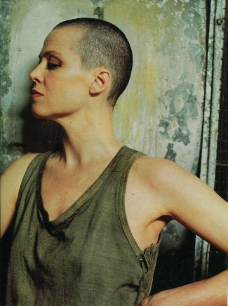 hot bald girls - sigourney weaver - ripley in alien 3