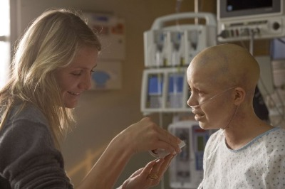 bald female celebrity - Sofia Vassilieva in my sisters keeper