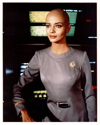 bald female celebs - persis khambatta star trek