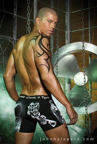 bald male models - Juan David Echeverri