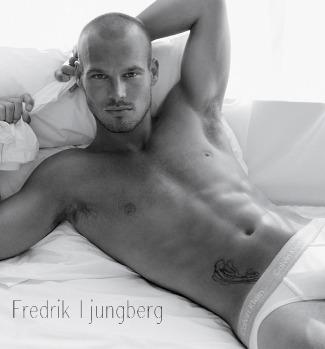 bald male models - fredrik-ljungberg-calvin-klein-underwear