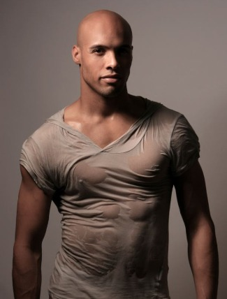 bald male models - tristan temple - from uk london