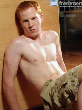shirtless ginger hunks blu kennedy