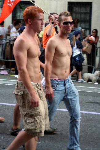 blu kennedy - gay pride march ny 2007