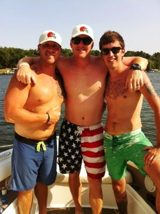 shirtless quarterbacks - brandon weedon for cleveland browns