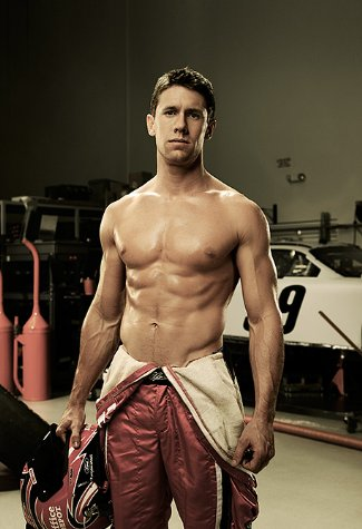 carl edwards shirtless nascar - espn - pic by carlos serrao