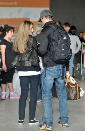 celebrities with northface bags - eric dane nf jester backpack