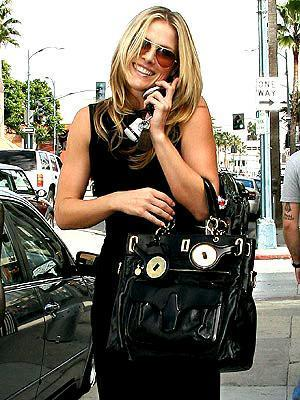 celebrity balenciaga bag - ali larter