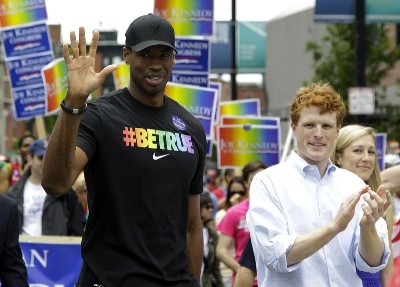 best male redhead hairstyle- joe kennedy with jason collins