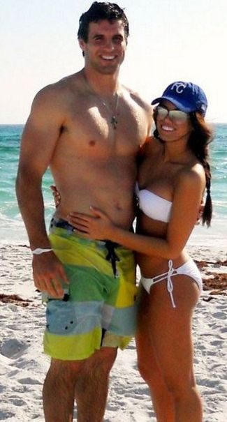 shirtless quarterbacks - christian ponder minnesota vikings
