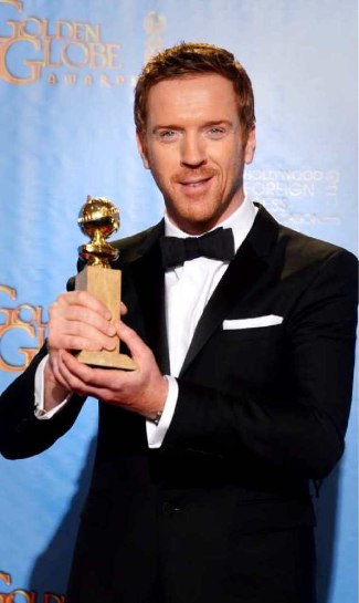 celebrity bow ties - damian lewis outfit