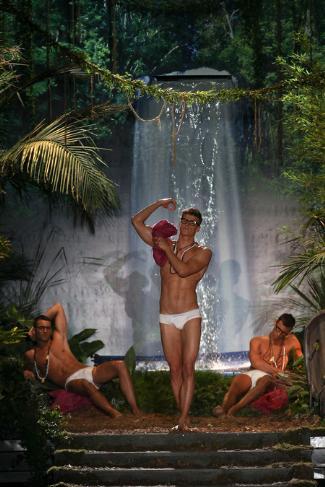 dsquared male underwear models - spring summer 2014 - milan fashion week june2013